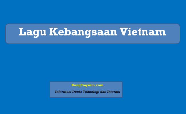 Lagu Kebangsaan Vietnam