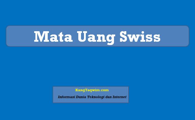 Mata Uang Swiss