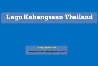 Lagu Kebangsaan Thailand