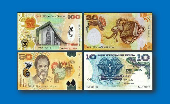 Gambar Uang Papua Nugini