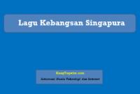 Lagu Kebangsaan Singapura