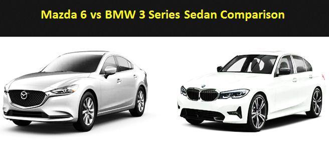 Mazda 6 vs BMW 3