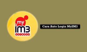 Cara Auto Login MyIM3