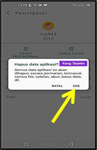 Hapus Data Aplikasi