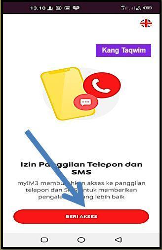 Izin Penggilan Tetepon dan SMS