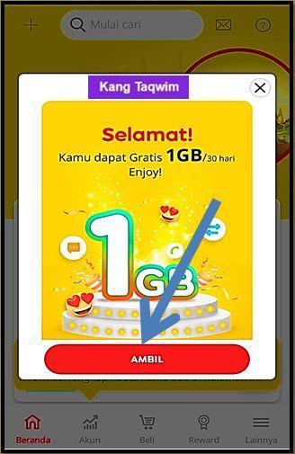Ambil 1 GB