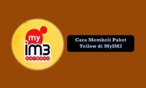 Cara Membeli Paket Yellow di MyIM3