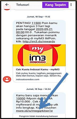 SMS Indosat