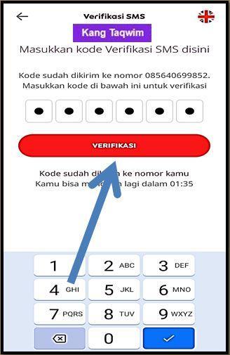 Verifikasi SMS MyIM3