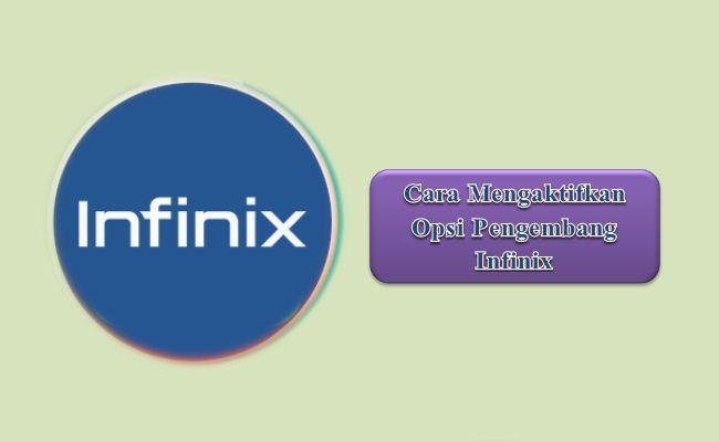 Cara Mengaktifkan Opsi Pengembang Infinix