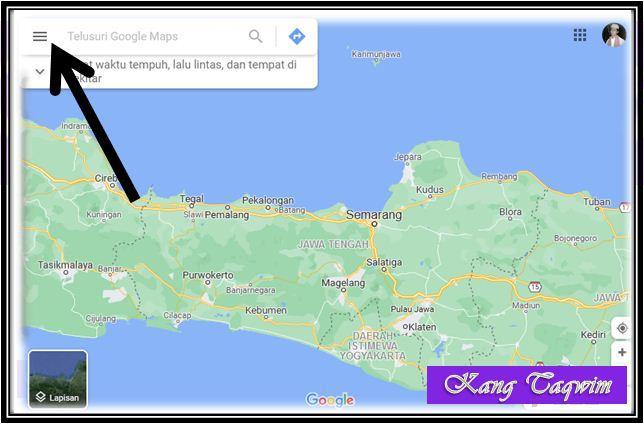 Garis Google Maps