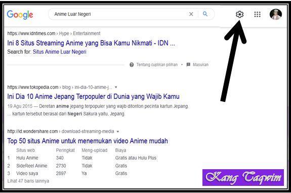 Setelan Google